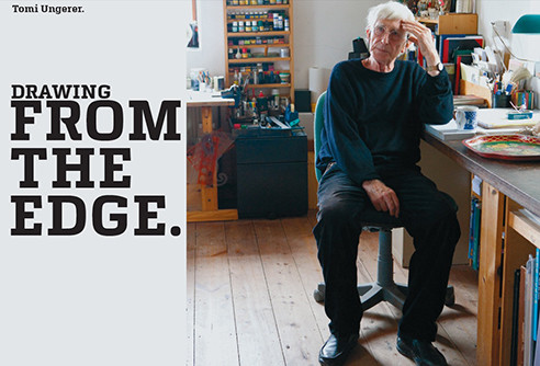 tomi ungerer drawing from the edge