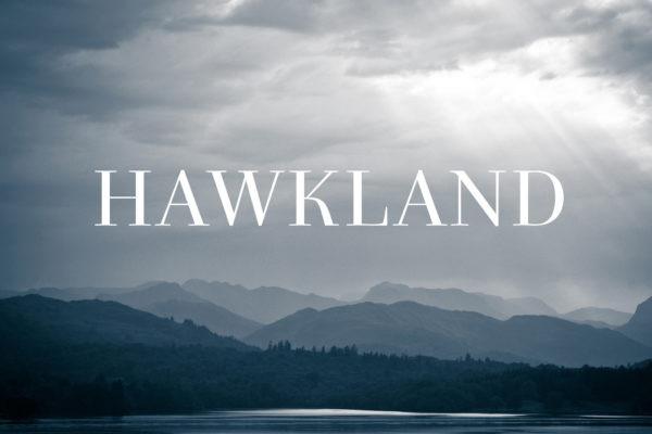 Hawkland typeface
