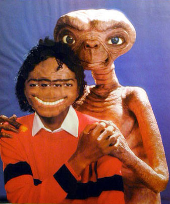 Mark Flood's Michael and E.T.