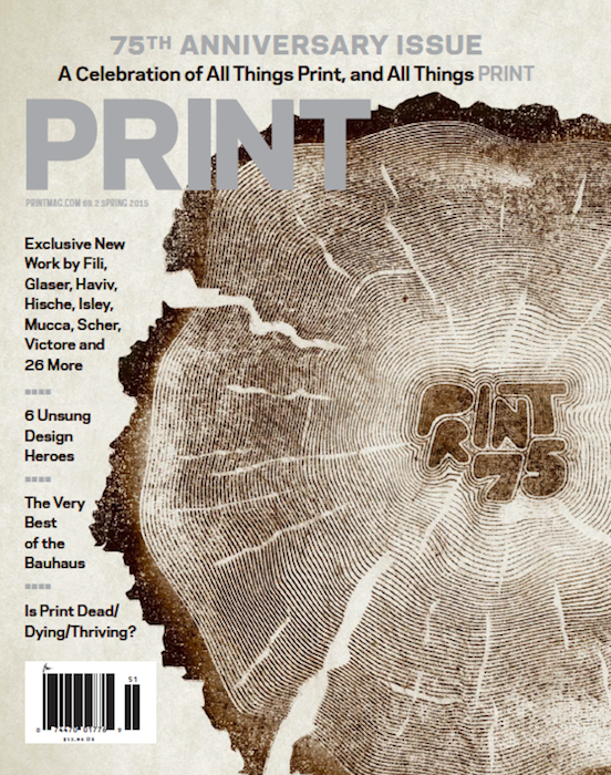 Print Magazine: 75th Anniversary Issue