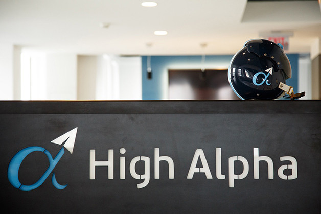 Branding for High Alpha, where Kristian Andersen is co-founder and partner