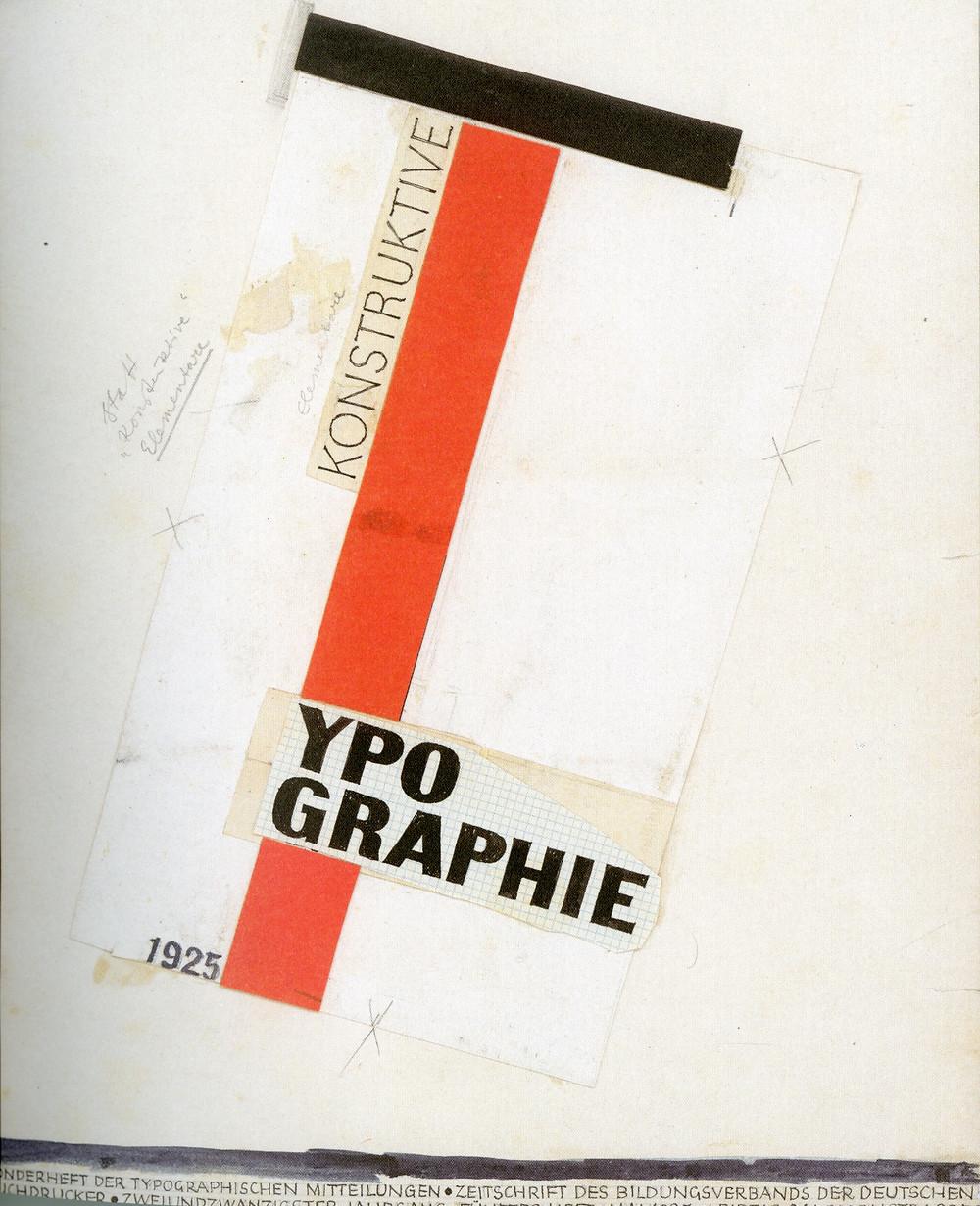 Typographer Jan Tschichold