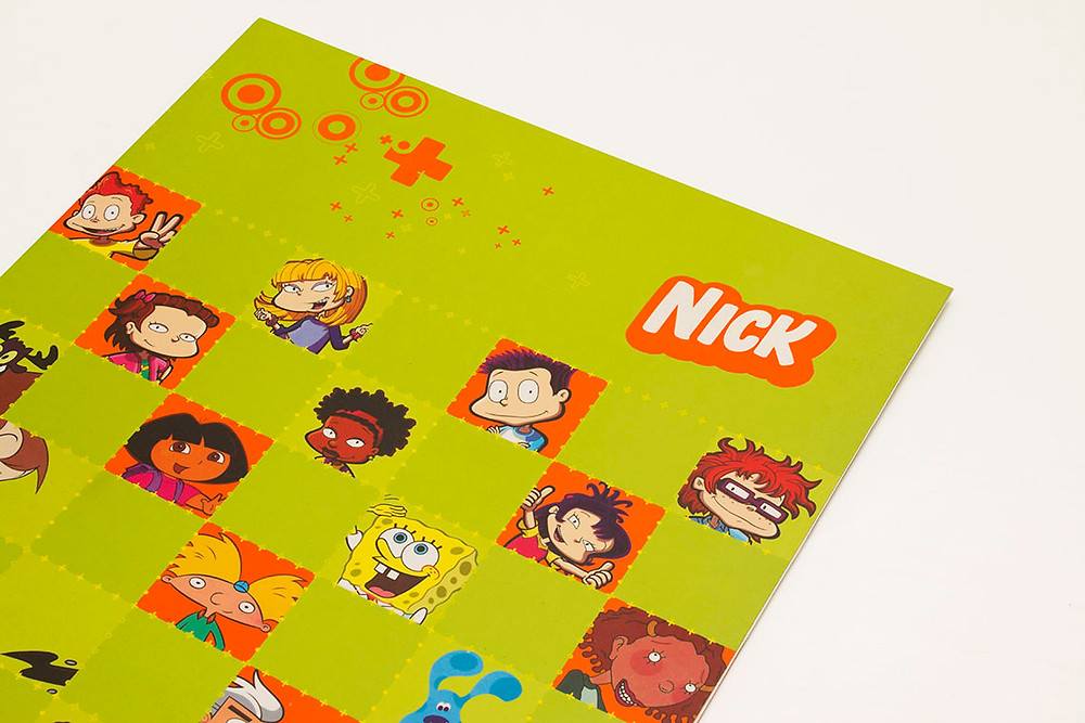 Nickelodeon Latin America branding, print campaigns, logos, etc.