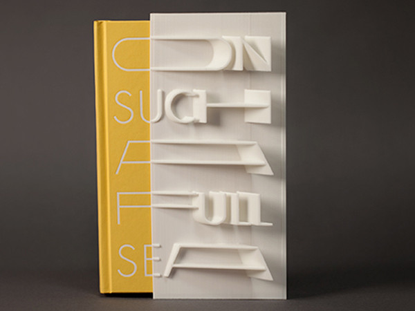 3D Book Cover: Chang-rae Lee's On Such a Full Sea's limited edition alternate cover is made even more unique by the addition of a 3D cover slipcase.
