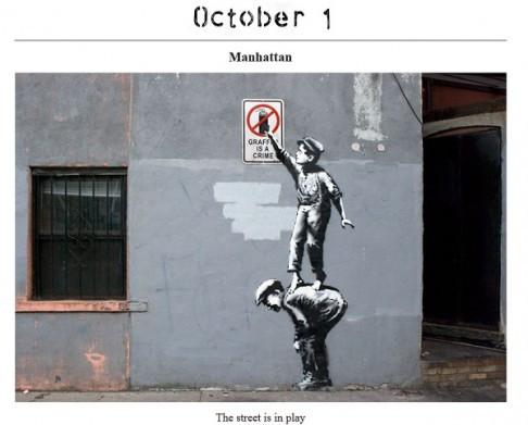 Banksy Begins