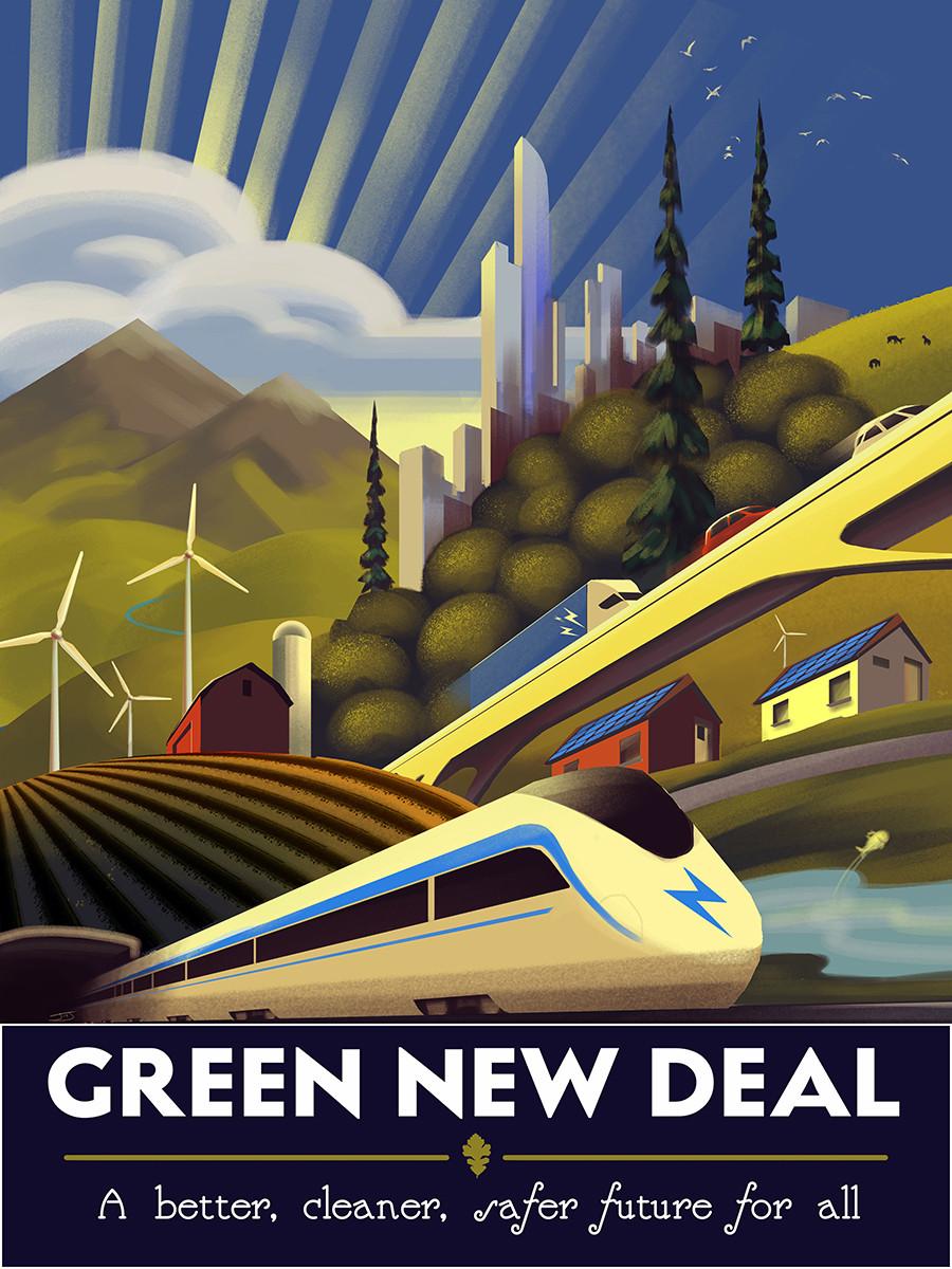 The Green New Deal by Jordan Johnson