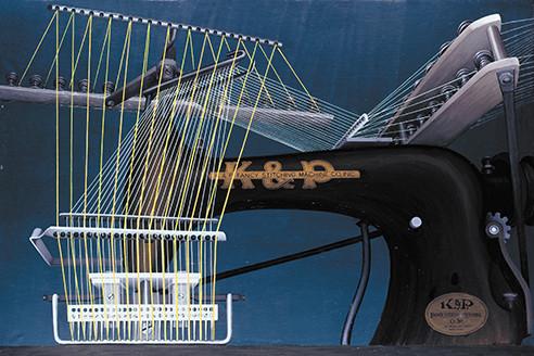 K&P Fancy Stitching Machine