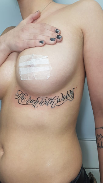 tatto and typography