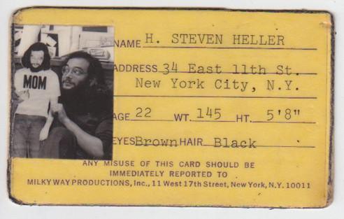 A press card and a token got me onto the subway.