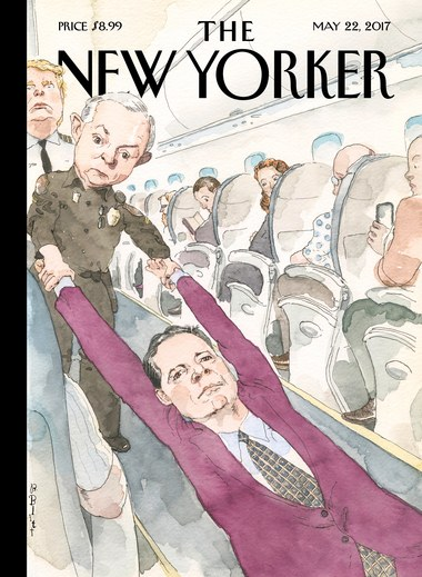 """""""Ejected"""" by Barry Blitt, May 22"""