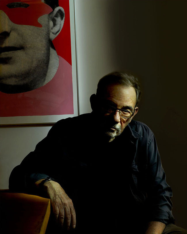 Seymour Chwast, illustrator, painter, sculptor, designer, author, pioneer.