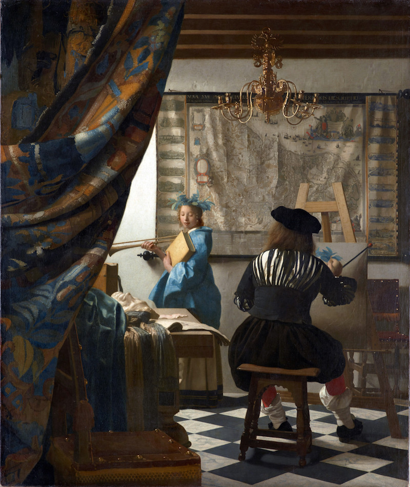 One can imagine Vermeer