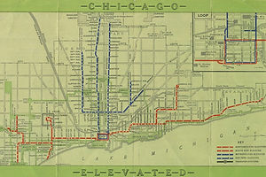 """Keeping Everyone in the Loop: 50 Years of Chicago """"L"""" Graphics"""