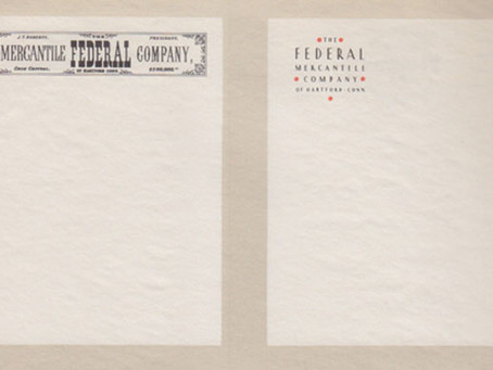 Letterheads: Then and Then