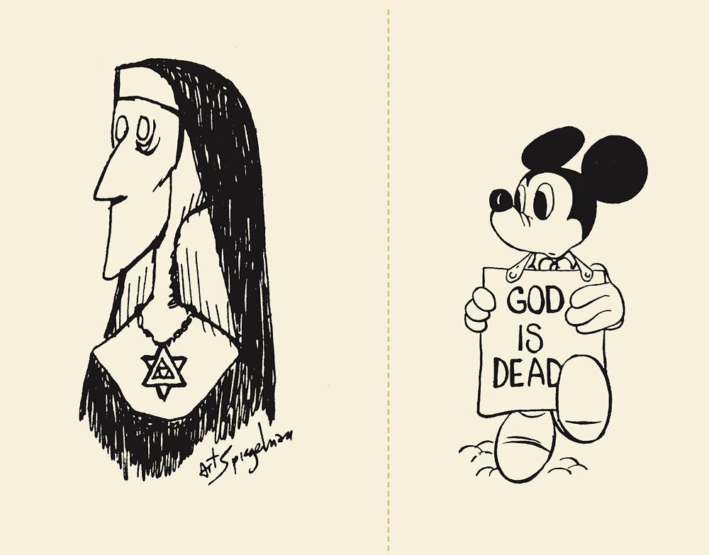 Art Spiegelman, 1969 and Richard Guindon, 1967