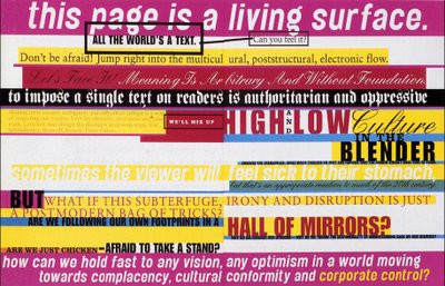 """Jonathan Branbrook for Adbusters """"Design Anarchy"""" issue, via Adbusters"""