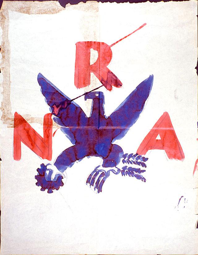 NRA logo ruff