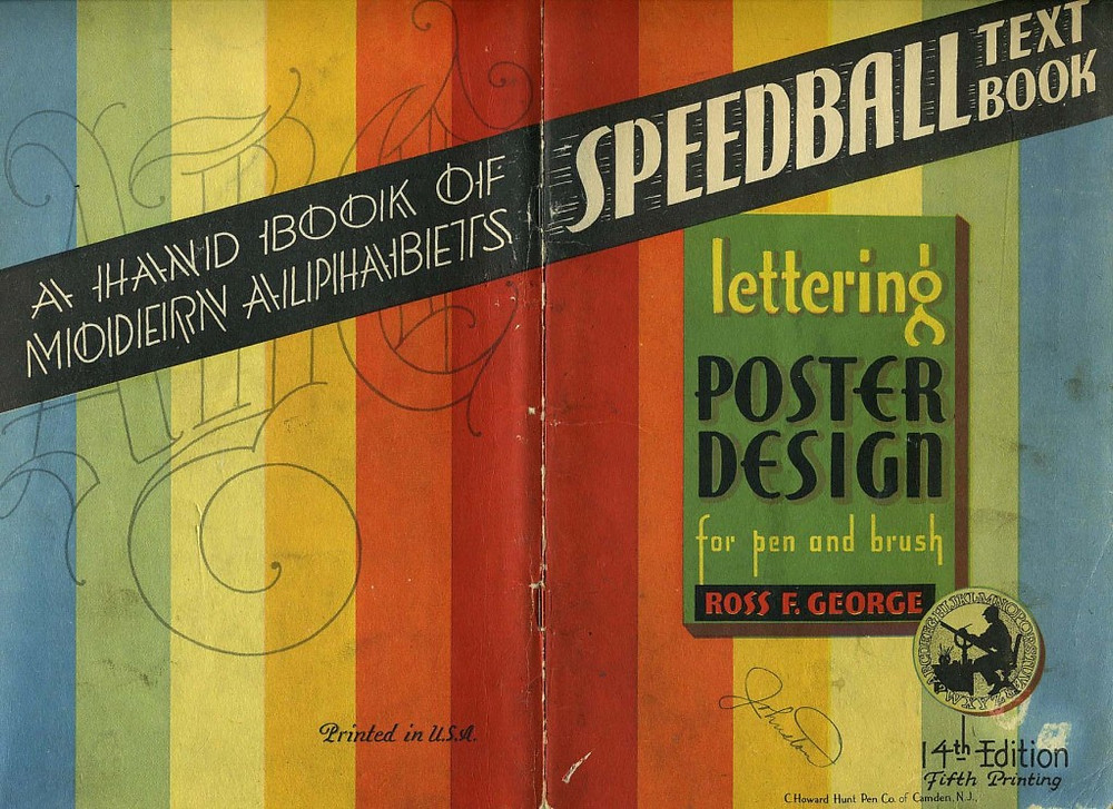 "14th Edition of the ""Speedball Text Book"""