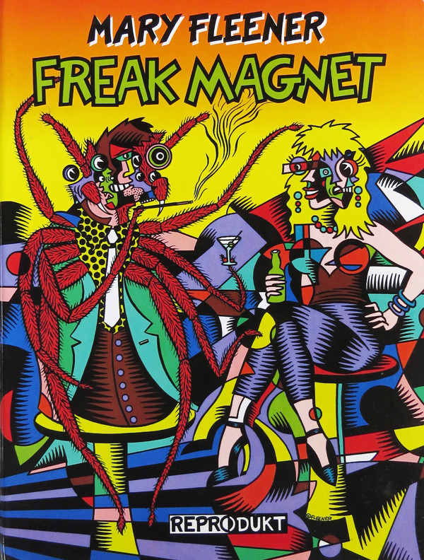 Freak Magnet comic book cover by Mary Fleener, 1995