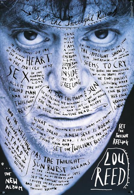 Set the Twilight Reeling Lou Reed poster