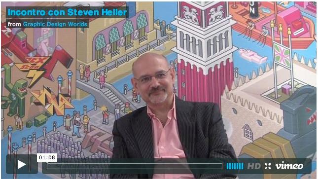 Incontro con Steven Heller