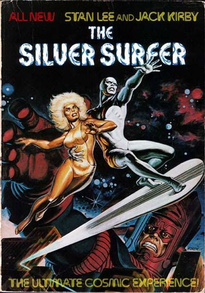 Silver surfer novel