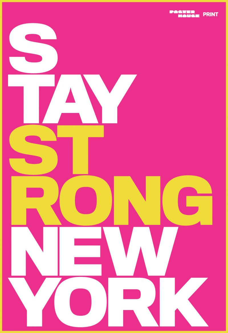 Ola Baldych - stay strong NYC