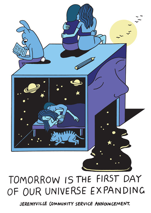 Tomorrow is the firs day of our universe expanding