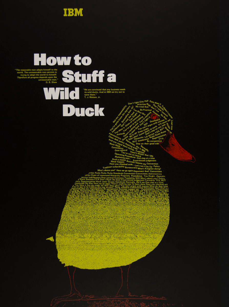 How to stuff a wild duck