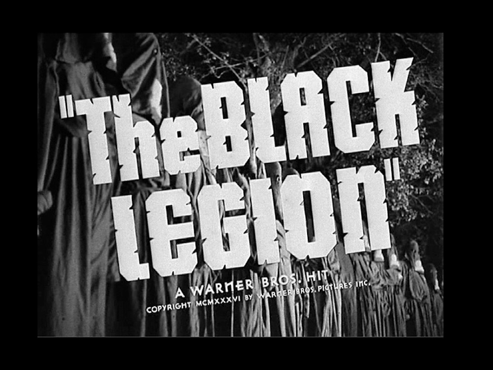 """The black legion"""