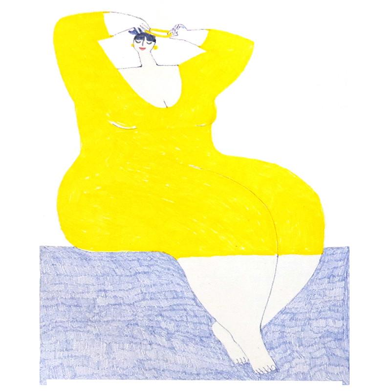 A Woman Who Draws