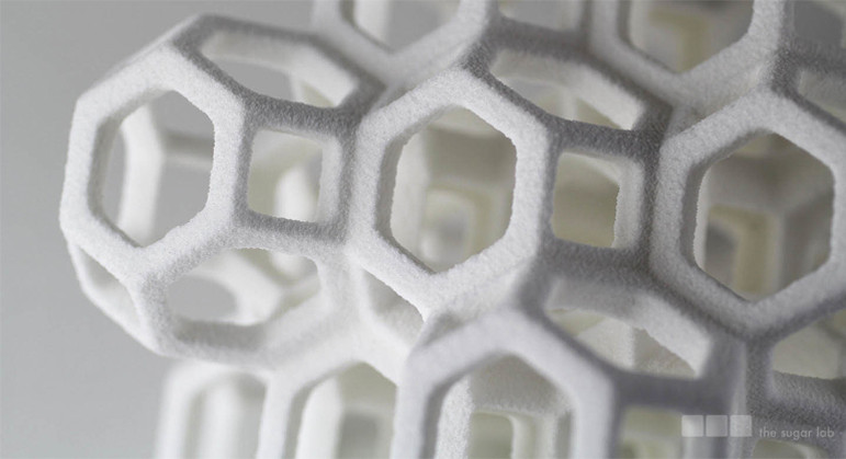 From the Pattern Observer post on The Sugar Lab, a design studio using 3-D printing with sugar: http://patternobserver.com/2013/06/11/3d-patterns-and-the-sugar-lab/