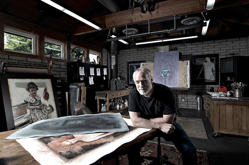 Drew Struzan photo by Greg Preston