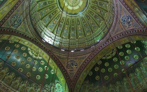 Image: Green Mosque via COLOURLovers: http://bit.ly/1voTKlE