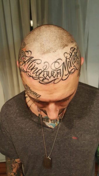 typography and tattoos