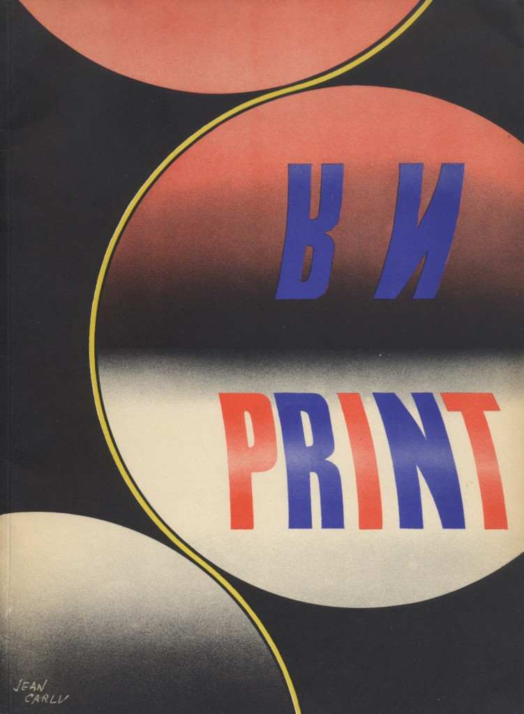 Volume III, Number 1. Cover (offset lithography) by Jean Carlu.