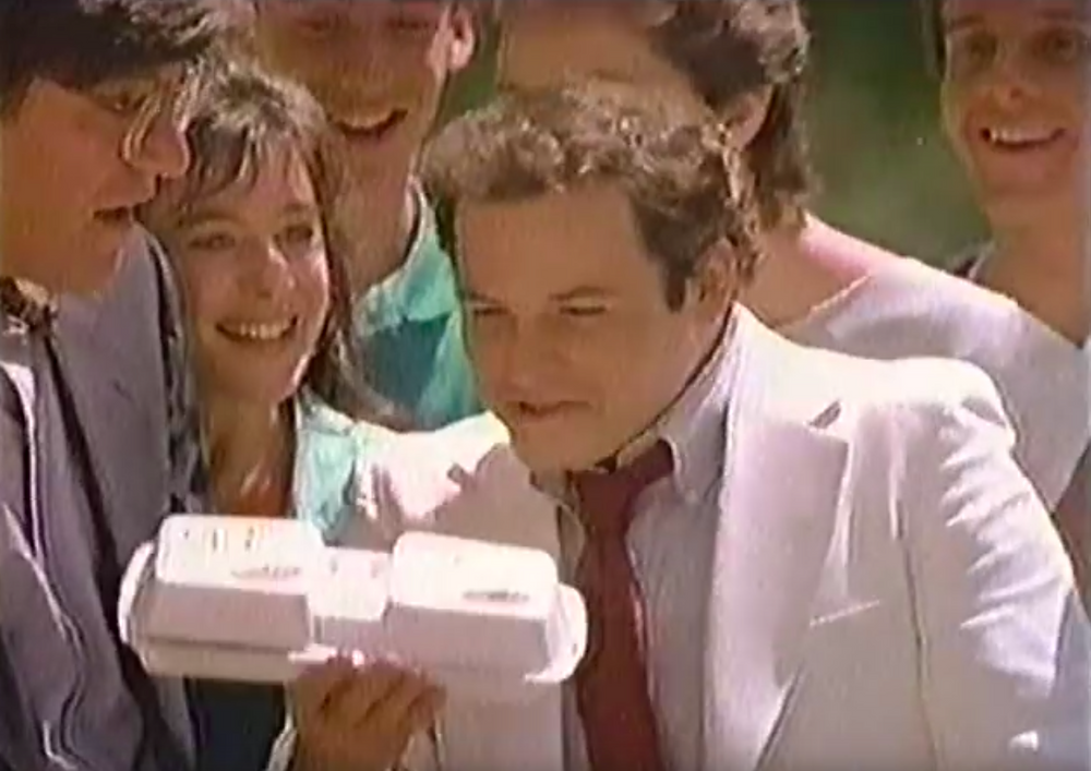 Seinfeld's Jason Alexander singing about the joys of the McDLT and its Styrofoam packaging.