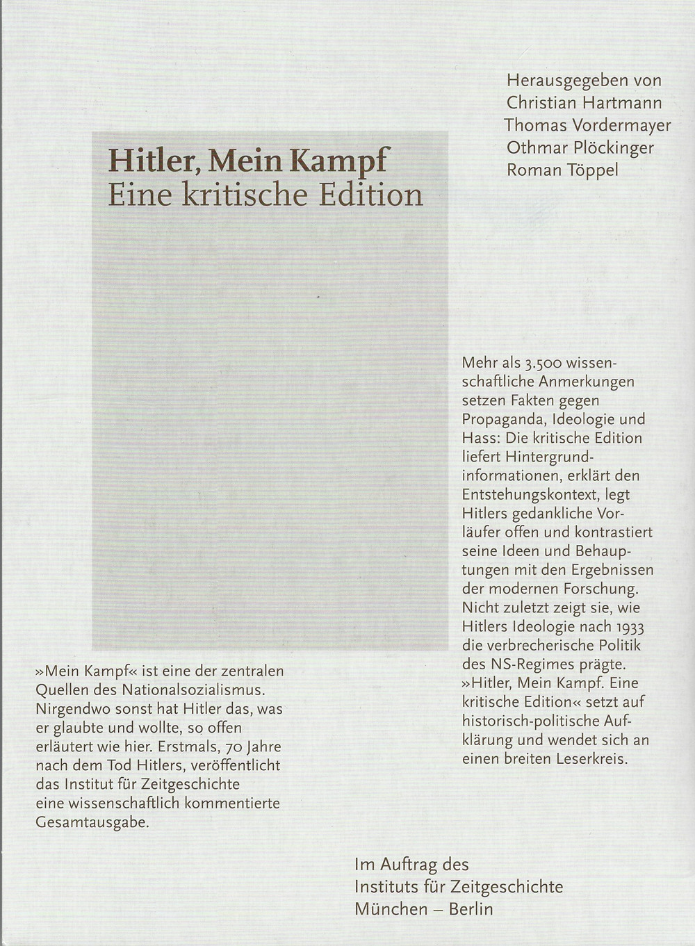 MeinKampf_CriticalEdition_Cover