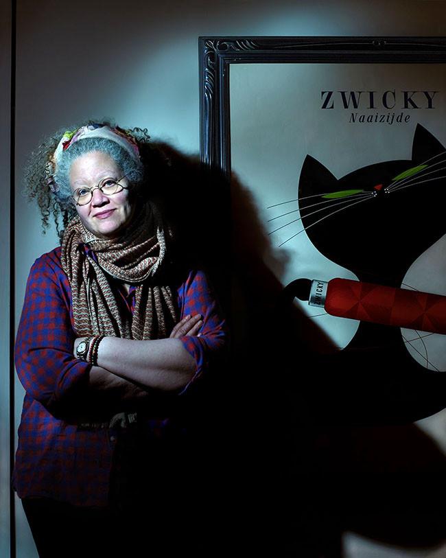 Gail Anderson, art director, designer, typographer, author.