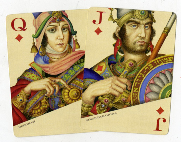 Jack and Queen cards