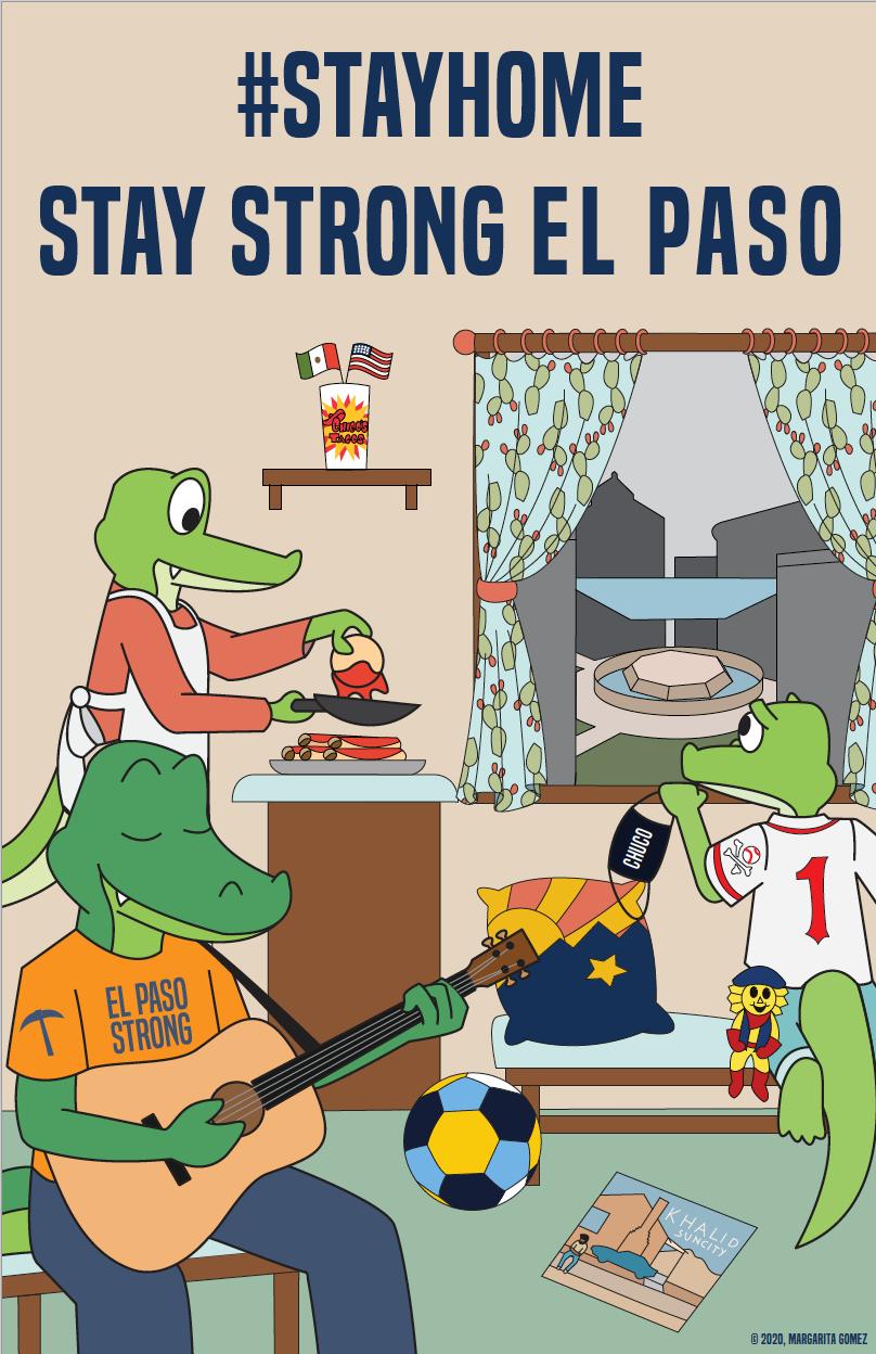 Stay stong EL paso