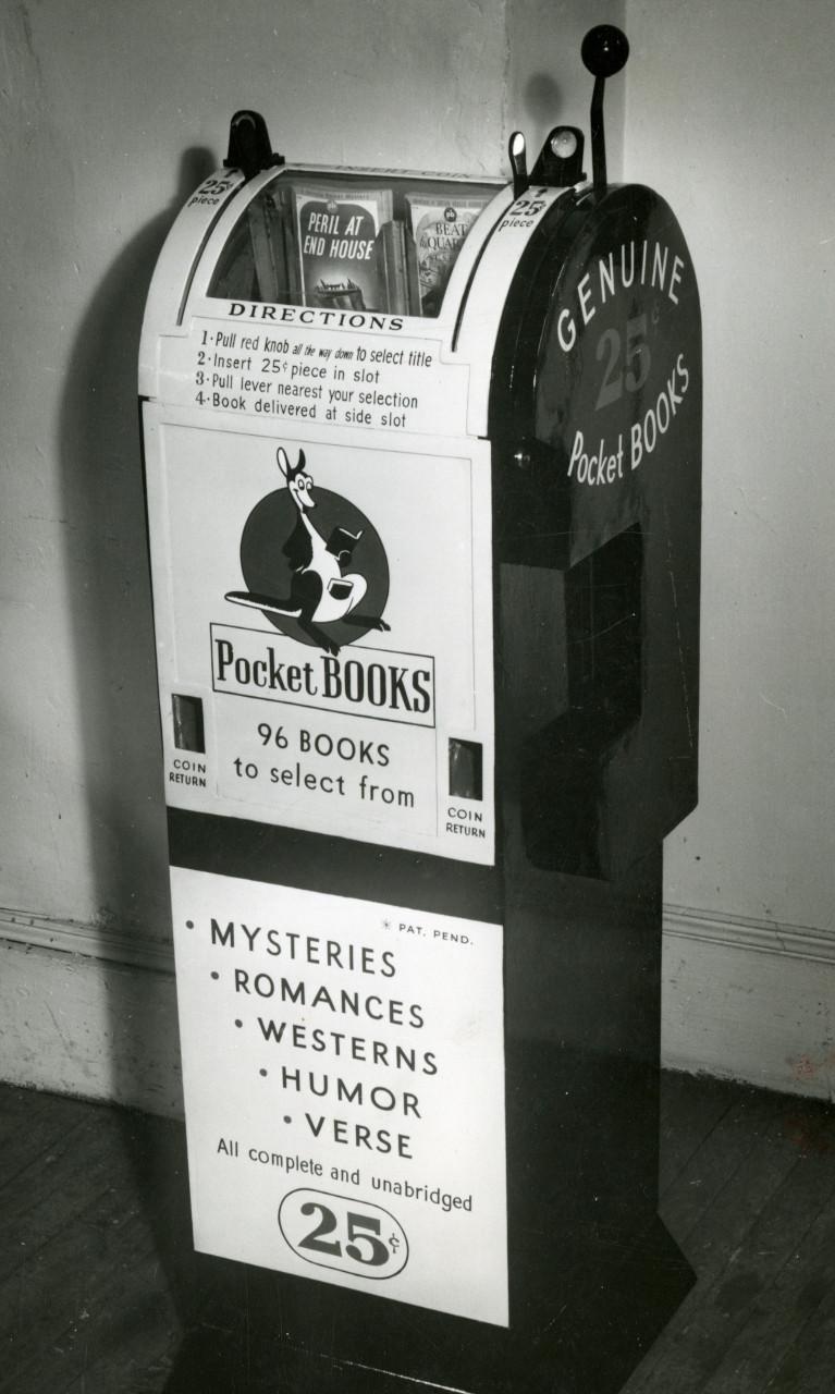 pocket books vending machines