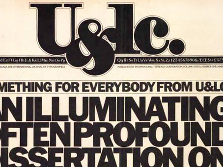 Looking Back: Working with Herb Lubalin on U&lc