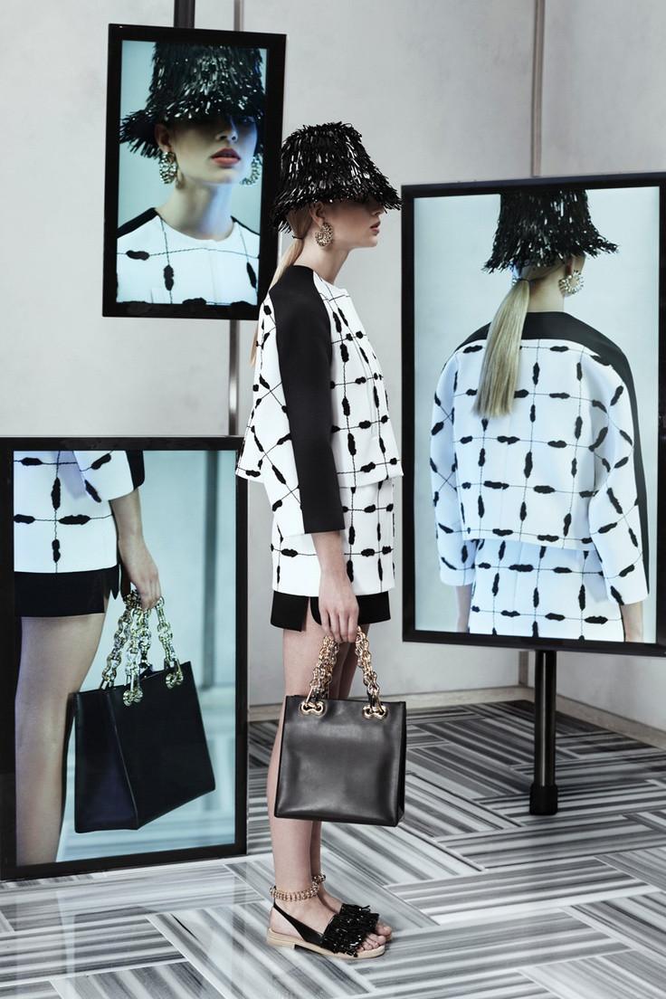 Balenciaga vector print, via Pattern Observer's Pinterest board and Vogue.com: http://pinterest.com/pin/526147168937034440/