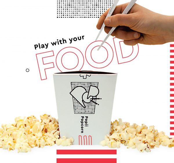 PopiiPopcorn: brand design by Morgan Prenger