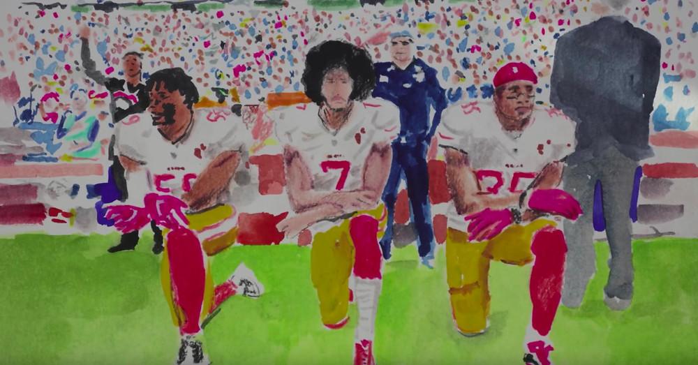Football Painting