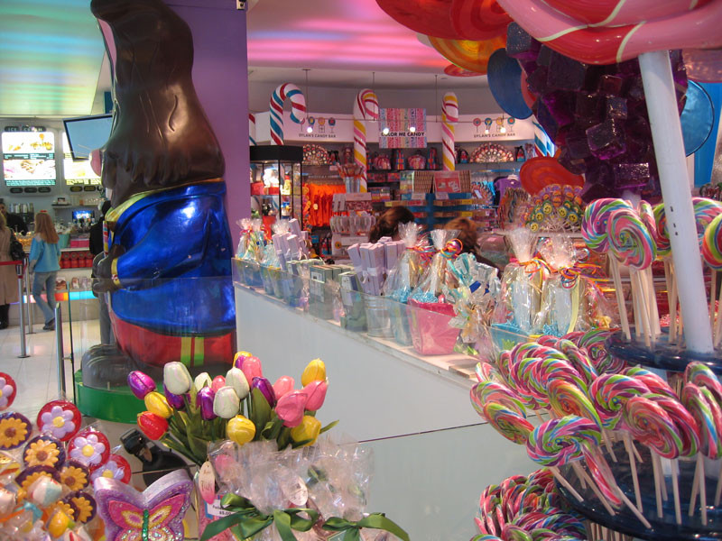 Candy store retail branding is in a category all its own.