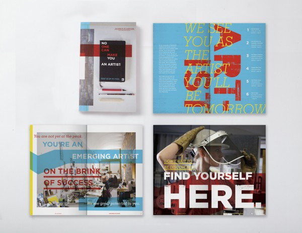 Hartford Art School Recruitment Package  by 160over90