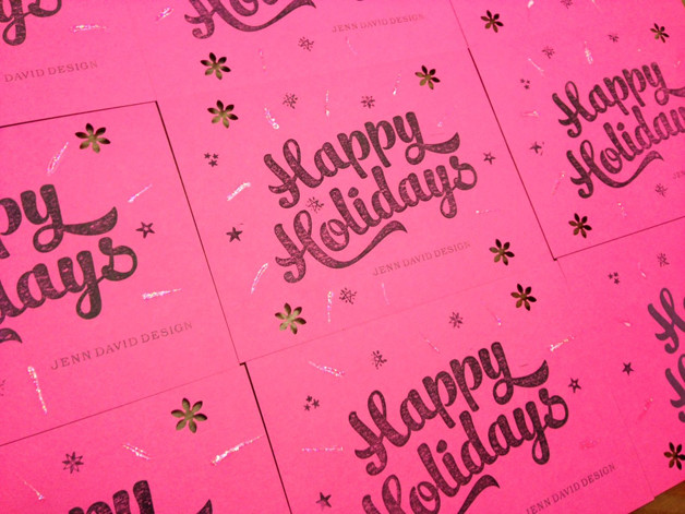 jenn david design; greeting card design
