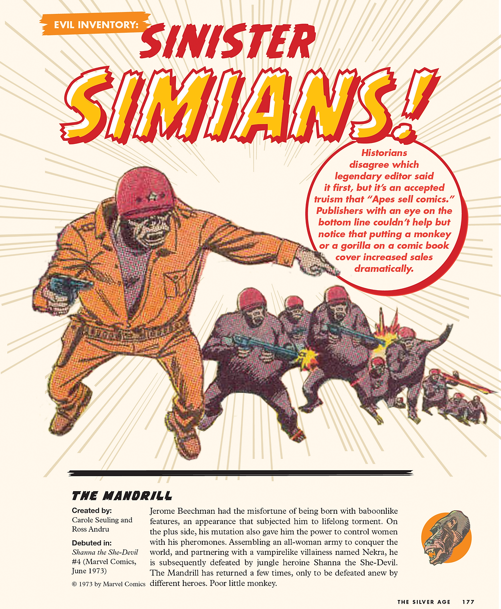 Comic Book History sinister simians